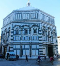 Duomo in Florence: the Baptistery