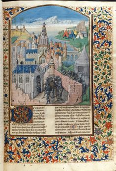 Royal 14 D I f. 7 Capture of a city British Library