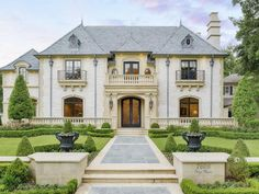 Exotic Excess - Estate of the Day: $3.5 Million French Style Mansion in Dallas, Texas
