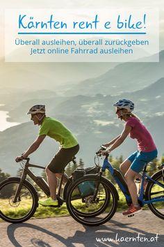 """Mache aus deinem Herbsturlaub oder Familienurlaub im Handumdrehen einen Radurlaub! Auch wenn du kein Fahrrad mit in den Urlaub nimmst. In Kärnten funktioniert das ganz einfach mit Kärnten """"rent e bike"""". Online reservieren, ausborgen und zurückgeben wo man möchte. Hier erfährst du mehr darüber.   #kaernten #urlaubinoesterreich #radurlaub #herbsturlaub #familienurlaub #radtour #radverleih Places To Travel, Bicycle, Fitness, Bike Rides, Simple, Renting, Family Vacations, Bike, Bicycle Kick"""