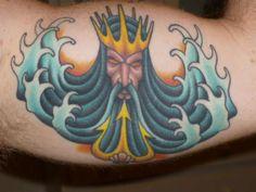 Image result for neptune tattoo design