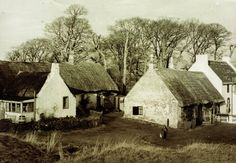Swanston (1950s)  The picturesque cottages at Swanston, with their thatched roofs and whitewashed walls, are unique in Edinburgh. At the end of the Second World War, the cottages were very basic with earth floors and no water and electricity. A particularly bad winter in 1947 left villagers cut off by huge snowdrifts. In 1956, nine of the cottages were converted into seven renovated dwellings. They were all Council houses until the 1970s, but they were all quickly snapped up when Right to…