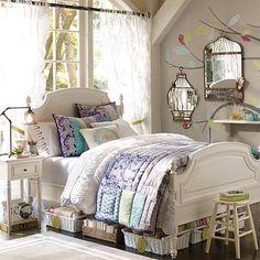 I love the Delilah Quilt & Sham on pbteen.com