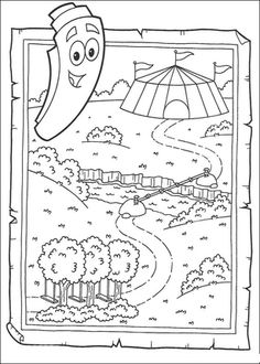 dora stars coloring pages - photo#38