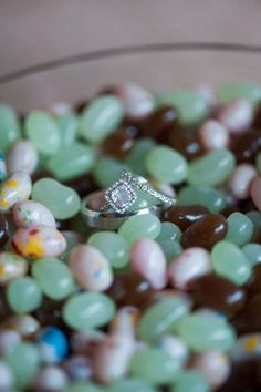 Engagement ring idea; Caitlin O'Reilly Photography via Something Turquoise