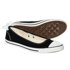 Converse Dainty Ballerina Shoes (Black)