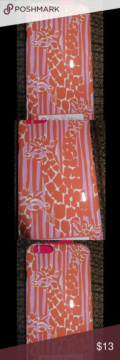 Lilly Pulitzer iPhone 6 Giraffe Case NWT Never used Lilly Giraffe iPhone 6 case super cute in pink and orange colors.  NWT Lilly Pulitzer for Target Accessories Phone Cases