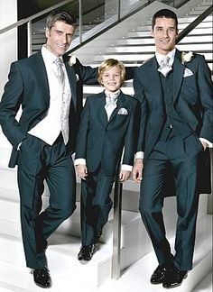 Wedding suit hire. Men's wedding suits from Perfectly Groomed. Formal mens and boys wedding hire