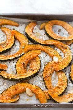 Zucca al forno - Ricetta Zucca al forno