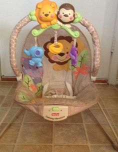 Baby Bouncy Chair in Burlesons Garage Sale in Burleson , TX for $20. My babies loved these chairs! Works like new.