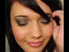 Romantic Smokey Eye (naked lunch, copperplate, satin taupe, concrete, cork, carbon) (UD Uzi eyeliner)