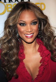 American Actress Tyra Banks ...hollywood celebrity...
