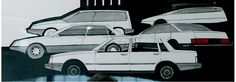 Volvo 700 drawings 1 Volvo 440, Volvo Cars, Car Design Sketch, Design History, Car Brands, Proposals, Motors, Sketches, Concept