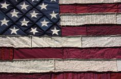 AMERICAN FLAG QUILT! pinspiration for sure