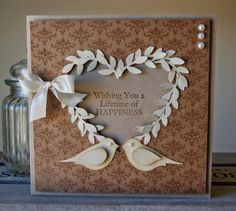 Wedding Card Birdy Style! - Julies Japes