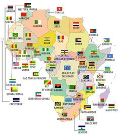 Map Of Africa Showing Sahara Desert Maps In 2019 Africa Map