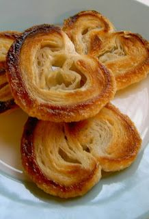How to Make Palmiers: they can be sweet, savory, filled. Very versatile. Easy to make ahead with puff pastry. Here's a link to cinnamon sugar palmiers http://ooh-look.blogspot.com/2010/09/elegant-palmiers.html
