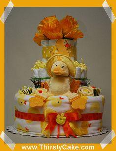 Cute Ideas for diaper cake