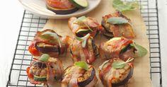 Probieren Sie die leckeren Schweinefiletwickel mit Zucchini und Aubergine von EAT SMARTER!