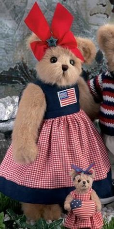 "Reagan Bear - 14"" - Retired 2007 by Bearington Collection, http://www.amazon.com/dp/B004C3PCUO/ref=cm_sw_r_pi_dp_S6Kmrb1F3G9TX"