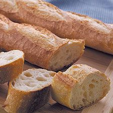 "These crunchy baguettes feature a chewy interior riddled with holes, and a crisp, deep-gold crust. While it's a challenge to make ""real"" baguettes at home, this version is probably as close … More »  Classic Baguettes and Stuffed Baguettes"