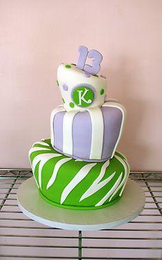Wacky 13! | Oklahoma's Premier Wedding Cake Designer and Sugar Artist