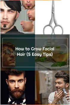 How to Grow Facial Hair (5 Easy Tips)  Robin Hood Beard Company Ltd