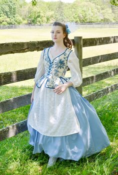 Making Century Jumps – And how they look worn! 18th Century Dress, 18th Century Costume, 18th Century Clothing, 18th Century Fashion, Vintage Gowns, Vintage Outfits, Vintage Fashion, Historical Costume, Historical Clothing