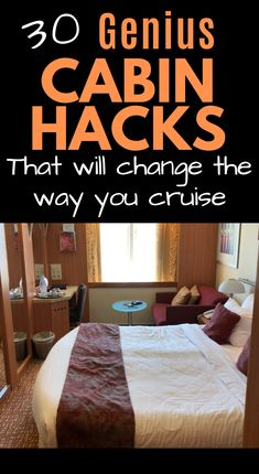 These genius Cruise Cabin Hacks are what you need to keep organized on your cruise, even if you're in an inside cabin! Families with kids especially will love these space-saving cruise tips! - Travel lifestyle - wanderlust for travelers - travel tips Honeymoon Cruise, Bahamas Cruise, Cruise Travel, Cruise Vacation, Alaska Honeymoon, Honeymoon Ideas, Italy Vacation, Carnival Cruise Bahamas, Alaska Cruise Tips