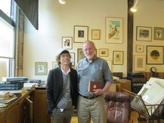 Mick Jagger at James and Laurie Booksellers in Minneapolis