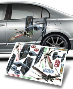 ThinkGeek :: Star Wars Car Wrap