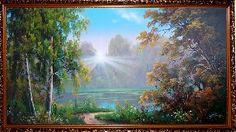 Ранняя осень - Осенний пейзаж <- Картины маслом <- Картины - Каталог | Универсальный интернет-магазин подарков и сувениров