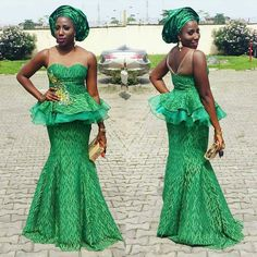 Dressed to Thrill! Gorgeous Aso-Ebi Styles that will Sweep You off Your Feet – Wedding Digest Naija