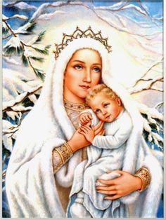 Oracion a la Virgen de las Nievas para Urgentes Necesidades