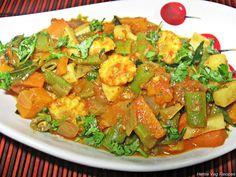 Mixed Vegetable Sabji/Subzi