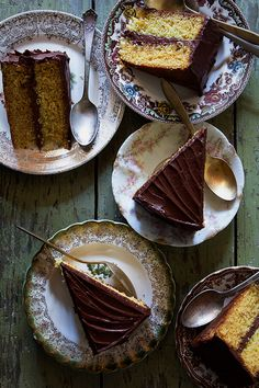 Chocolate Orange Cake via Bakers Royale