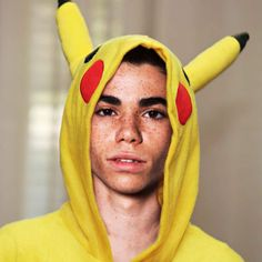 Cameron chu... Pikachu.... Pokemon.... Cameron Boyce