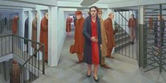 The-Subway-George-Tooker-1950