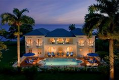 Royal Villas at Half Moon Resort in Jamaica. Up to seven bedrooms perfect for family reunions!