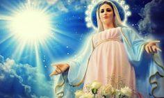 O Vergine Maria, Madre Nostra Tenerissima, piena di Grazia, Voi avete sempre accettato, con totale umiltà, in tutto il corso della vita, la Volontà del Pad