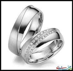 مدل حلقه ست نامزدی و ازدواج از برند Ag