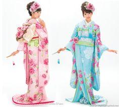 Pastell Kimonos