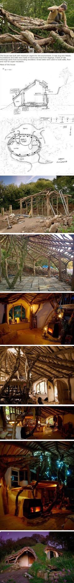 A hobbit hole! (Built for $5000!)