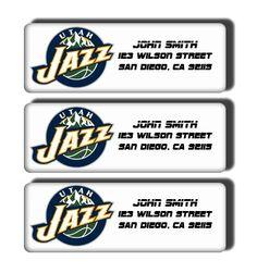 Utah Jazz NBA Basketball Team  Custom Return by DreamLabels, $5.00