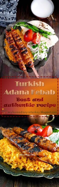 Citra's Home Diary: Adana Kebab. Best and authentic recipe make it at home!