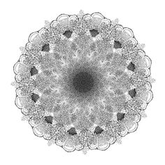 Mandalas of Nature by lwjon , via Behance
