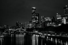 Night lights - Melbourne