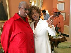 The Young'uns-Dancer-choreographer Judith Jamison and actress Alfre Woodard with Della Reese in the background.