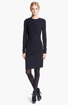 T by Alexander Wang Gathered Jersey Dress available at #Nordstrom GREAT WORK DRESS