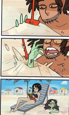 Buried Alive, Episode 9 of ZomCom in WEBTOON. Your average everyday life of a zombie girl and her spooky friends. Cute Zombie, Zombie Girl, Cute Comics, Funny Comics, Karen Memes, Funny Comic Strips, Funny Relatable Memes, Cute Love, Webtoon
